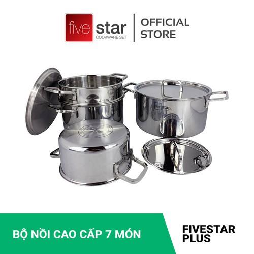 Bộ nồi xửng hấp fivestar 3 lớp đúc liền-inox 304.hàng xuất khẩu.,tặng 2 vá canh và 10 muỗng inox - 20331979 , 23041774 , 15_23041774 , 1590000 , Bo-noi-xung-hap-fivestar-3-lop-duc-lien-inox-304.hang-xuat-khau.tang-2-va-canh-va-10-muong-inox-15_23041774 , sendo.vn , Bộ nồi xửng hấp fivestar 3 lớp đúc liền-inox 304.hàng xuất khẩu.,tặng 2 vá canh và