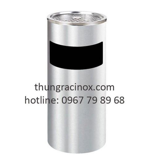 Thùng rác inox có gạt tàn thuốc a35-a - 18967774 , 23046917 , 15_23046917 , 550000 , Thung-rac-inox-co-gat-tan-thuoc-a35-a-15_23046917 , sendo.vn , Thùng rác inox có gạt tàn thuốc a35-a