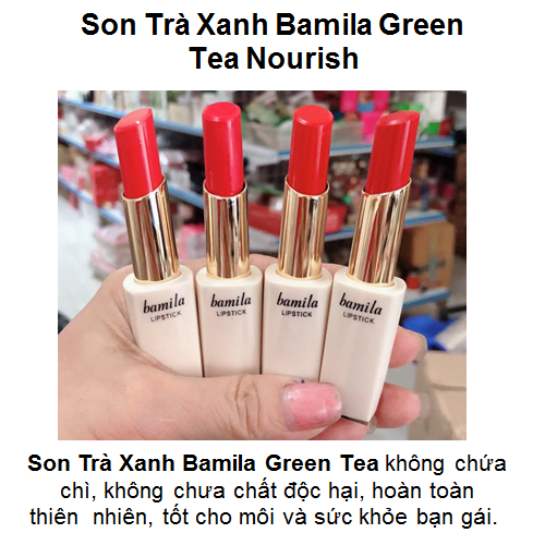 Son trà xanh bamila green tea nourish - 19264076 , 23062807 , 15_23062807 , 50000 , Son-tra-xanh-bamila-green-tea-nourish-15_23062807 , sendo.vn , Son trà xanh bamila green tea nourish