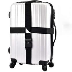 Dây đai vali hình chữ thập khóa số Holly đi du lịch tiện dụng