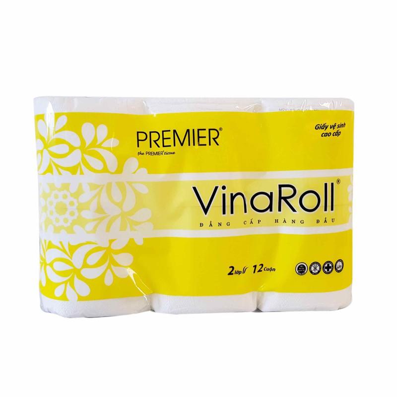 Giấy vệ sinh Vinaroll 12 cuộn – SV1905