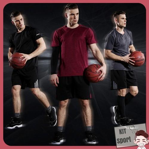 Hà nội áo thun phông ngắn thể thao nam basic vansydical đồ tập gym thể hình nam