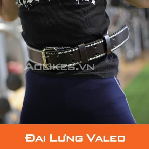 Đai lưng cứng tập gym đai lưng squat nịt bụng đai lưng thể hình valeo