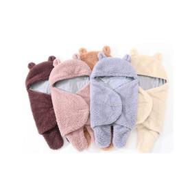 Áo ủ lông cho bé - Túi ngủ cao cấp , Chăn quần dạng khăn ủ kén quấn nhộng lông cừu cho trẻ sơ sinh đến 6 tháng tuổi  - Áo ủ lông - Túi ngủ cao cấp