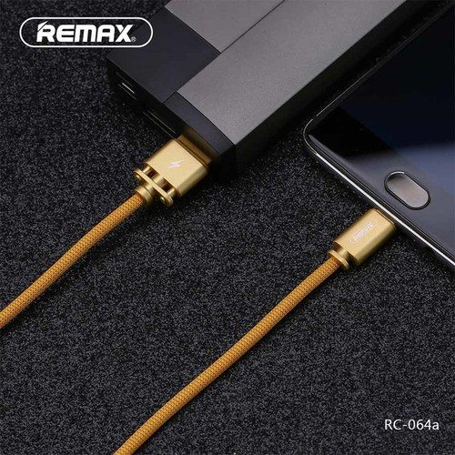 Cáp sạc nhanh remax rc-064 lightning, micro, type c - cáp sạc chính hãng kiêm truyền dữ liệu