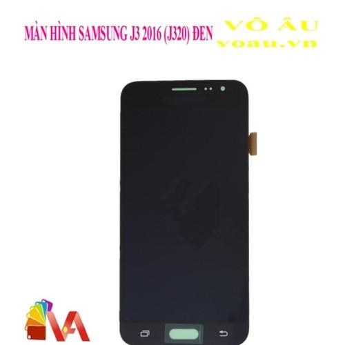 Màn hình bộ samsung j3 2016 sáng tối màu đen