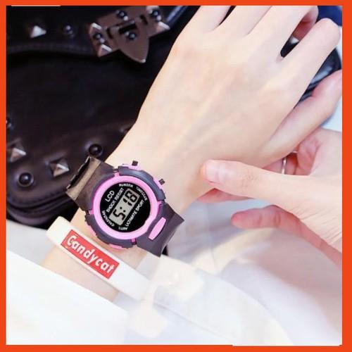 Khuyến mãi đồng hồ điện tử trẻ em 321 dây đen mặt led viền nhiều màu dễ thương - 20351361 , 23076264 , 15_23076264 , 49000 , Khuyen-mai-dong-ho-dien-tu-tre-em-321-day-den-mat-led-vien-nhieu-mau-de-thuong-15_23076264 , sendo.vn , Khuyến mãi đồng hồ điện tử trẻ em 321 dây đen mặt led viền nhiều màu dễ thương