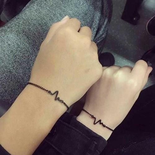 Vòng tay nhịp tim cá tính - vòng đeo tay - vòng đeo tay cá tính - vòng tay cá tính - h2vrg001