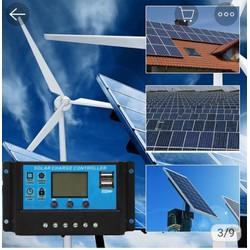 sạc pin năng lượng mặt trời 30A PWM