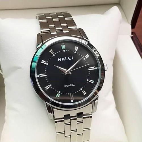 Big sale đồng hồ nam halei hl168 dây hợp kim chống nước