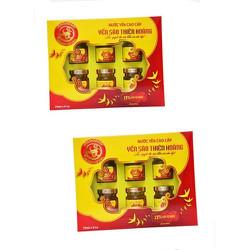 Combo 2 hộp yến sào Thiên Hoàng - 1 hộp 6 lọ x 70ml
