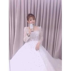 áo cưới xinh mềm hợp túi tiền khách hàng giá mềm cho sỉ