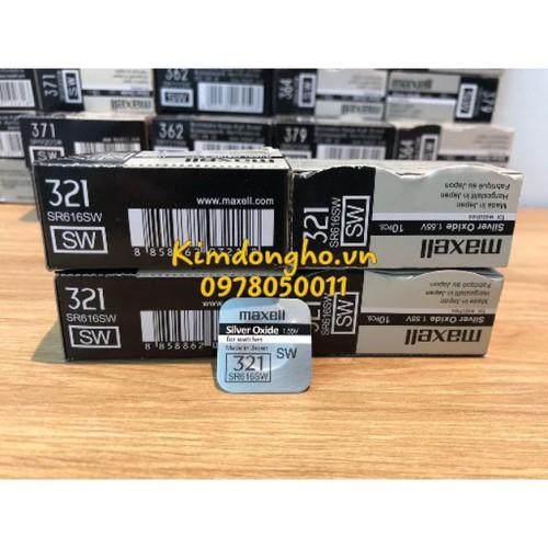 Pin đồng hồ maxell 321 616 sr616sw japan chính hãng