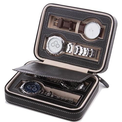 Freeship từ 99k hộp đồng hồ bằng da 4 ngăn màu đen - 20351290 , 23076187 , 15_23076187 , 264000 , Freeship-tu-99k-hop-dong-ho-bang-da-4-ngan-mau-den-15_23076187 , sendo.vn , Freeship từ 99k hộp đồng hồ bằng da 4 ngăn màu đen