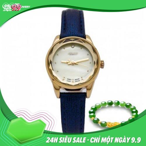 Mua 1 tặng 1 đồng hồ julius nữ ja 723e ju1128 xanh tặng kèm vòng tay