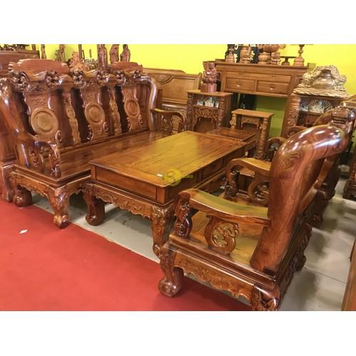 Bộ bàn ghế chạm đào gỗ cẩm lai tay 12 - 18032361 , 23077414 , 15_23077414 , 129000000 , Bo-ban-ghe-cham-dao-go-cam-lai-tay-12-15_23077414 , sendo.vn , Bộ bàn ghế chạm đào gỗ cẩm lai tay 12