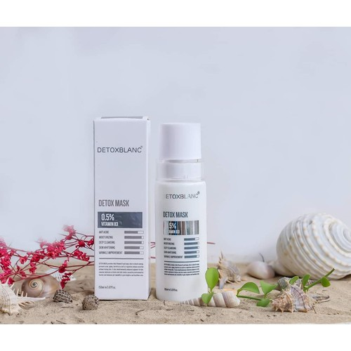 Mặt nạ thải độc detox blanc mẫu mới - số 1 detox blanc