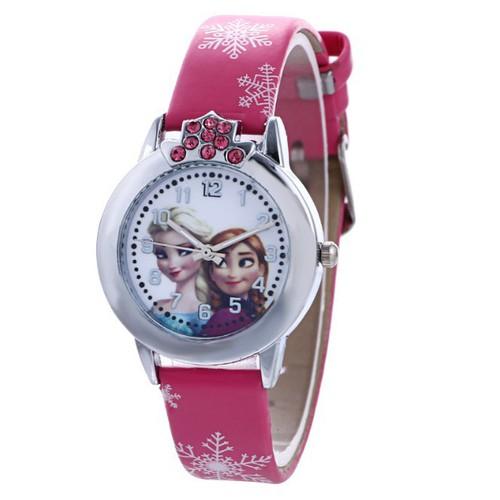 Đồng hồ trẻ em elsa anna te001 2 màu cao cấp