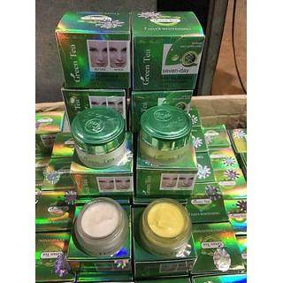 Combo 2 hũ kem dưỡng trắng da Green Tea ngày và đêm Đài Loan - ETR thumbnail