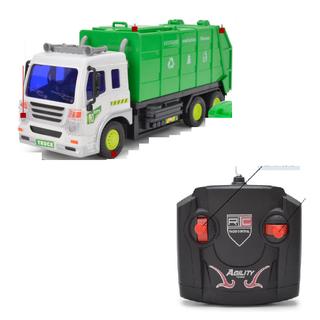 Xe rác điều khiển từ xa sử dụng pin AA xe có đèn tỉ lệ 1 16 - xe rác điều khiển thumbnail
