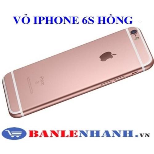 Vỏ bộ iphone 6s màu hồng