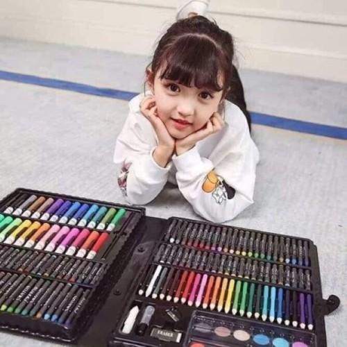 Bộ hộp màu 150 chi tiết đep cho bé