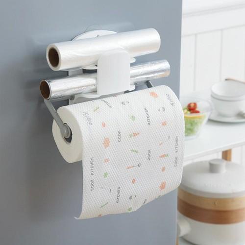 Cuộn 220 tờ giấy lau đa năng màu trắng dùng trong nhà bếp