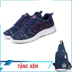 [MUA 1 TẶNG 1] Giày Sneaker Thể Thao Nam SACAS SC078 + Túi đeo chéo Nam HARAS HR083