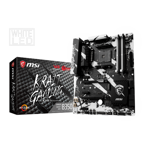 Main msi b350 krait gaming → số 1 cho game thủ!