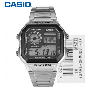 Đồng hồ nam Casio World Time AE-1200WHD-1AVDF chính hãng - Đồng hồ nam Casio thumbnail