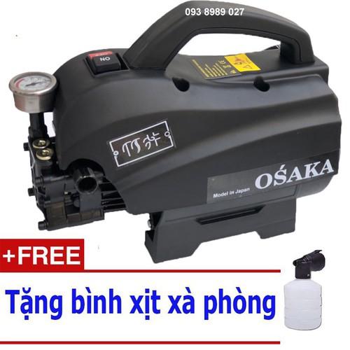 Máy rửa xe áp lực cao osaka 2400w - tặng bình xà bông