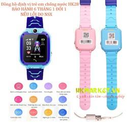[ GIAO NHANH 3H] Đồng hồ định vị trẻ em HK28 chống nước an toàn cho bé