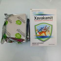 Xavakamit THYMUS 500MG Nhập khẩu từ Mỹ, 60 viên nang