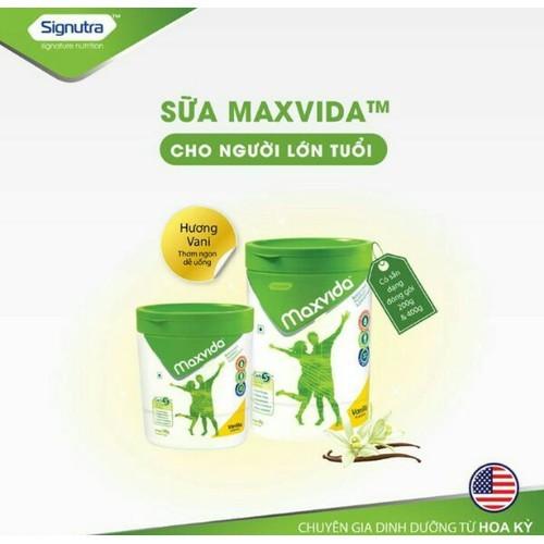 Sữa Dinh Dưỡng MAXVIDA - Hộp 400 gr - MAX400 - SỮA MAXVIDA 400G