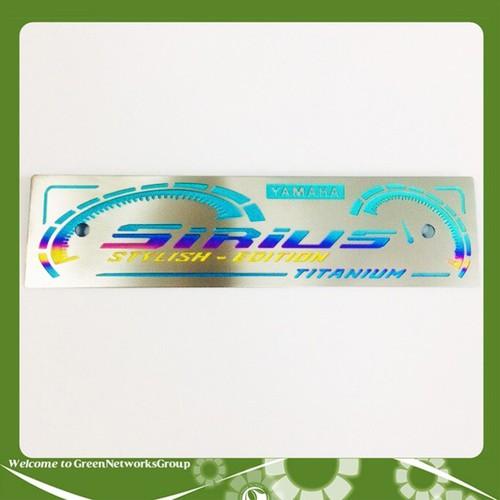 Bảng tên titanium sirius - 19264454 , 23109827 , 15_23109827 , 139000 , Bang-ten-titanium-sirius-15_23109827 , sendo.vn , Bảng tên titanium sirius