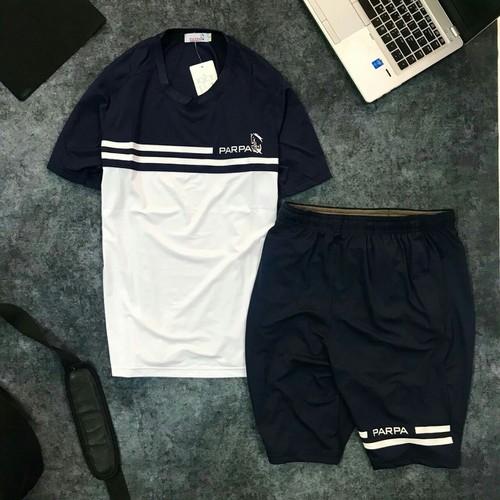Bộ quần áo thể thao nam xuất khẩu