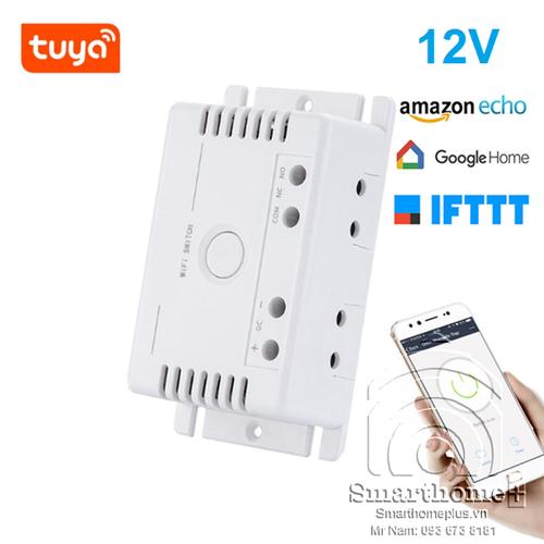Công tắc wifi và rf điện áp thấp 7 - 32v dc tuya shp-sv2