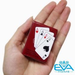 Hộp 2 Bộ Bài Tây Poker Mini