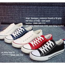 giày thể thao nữ thấp cổ – giày học sinh Nam-nữ