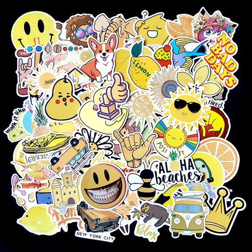 Sticker dán cao cấp chủ đề màu vàng - yellow - dùng dán xe, dán mũ bảo hiểm, dán laptop... - 20367727 , 23108048 , 15_23108048 , 15000 , Sticker-dan-cao-cap-chu-de-mau-vang-yellow-dung-dan-xe-dan-mu-bao-hiem-dan-laptop...-15_23108048 , sendo.vn , Sticker dán cao cấp chủ đề màu vàng - yellow - dùng dán xe, dán mũ bảo hiểm, dán laptop...