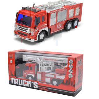 Xe cứu hỏa đồ chơi điều khiển từ xa sử dụng pin AA - Xe cứu hỏa tỉ lệ 1 16 thumbnail