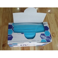 Khẩu trang y tế 3 lớp UV Mask Protection SONG THIÊN hộp 50 cái