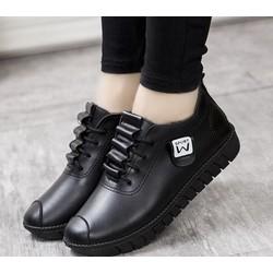 Giày Sneaker - Giày Da Nữ W Thời Trang TXN 15