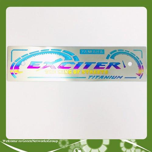 Bảng tên titanium exciter - 20366173 , 23105663 , 15_23105663 , 139000 , Bang-ten-titanium-exciter-15_23105663 , sendo.vn , Bảng tên titanium exciter