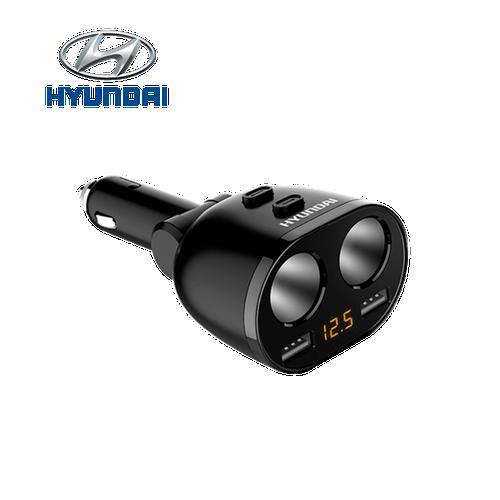 Bộ chia tẩu sạc ô tô nhãn hiệu hyundai hy-16