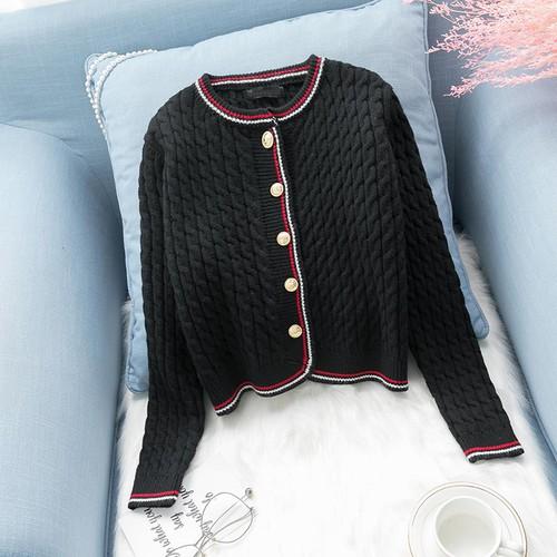 Áo khoác len nữ phong cách hàn