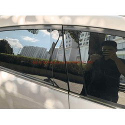 Ốp bóng trụ cửa xe ô tô Kia Cerato, Seltos, K3