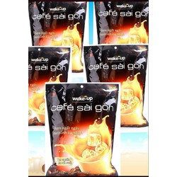 Combo 5 bịch cafe Wake up bịch 24 gói x 19 gr