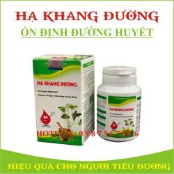Hạ Khang đường Liệu trình ổn định đường huyết hiệu quả CHÍNH HÃNG
