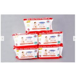 Combo 5 gói khăn giấy ướt loại 80 gr